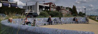 Kunstwerk van de Maand oktober: Waterleliebank